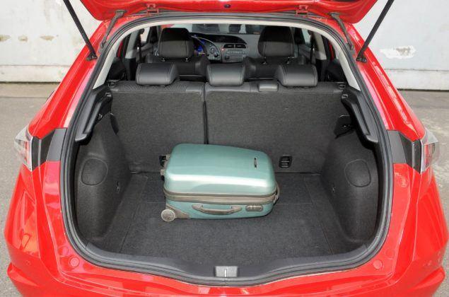 Honda Civic VIII - bagażnik