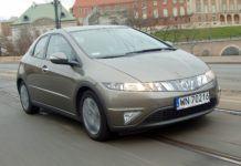 Honda Civic VIII UFO - otwierające