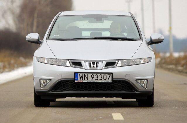 Honda Civic VIII po liftingu