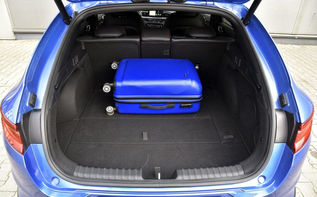 Kia Proceed - bagażnik