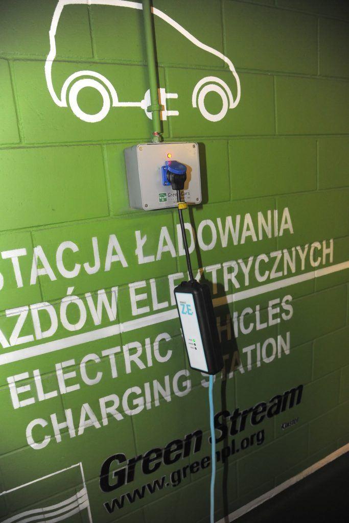 Ladowanie auta elektrycznego pradem z sieci