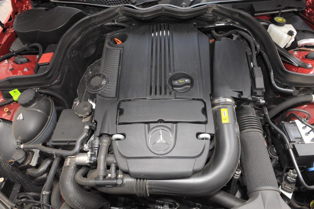 Mercedes silnik 1.8 turbo