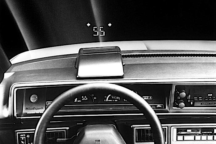 Oldsmobile Cutlass - head-up