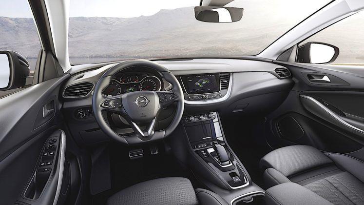 Opel Grandland X Hybrid4 - kokpit