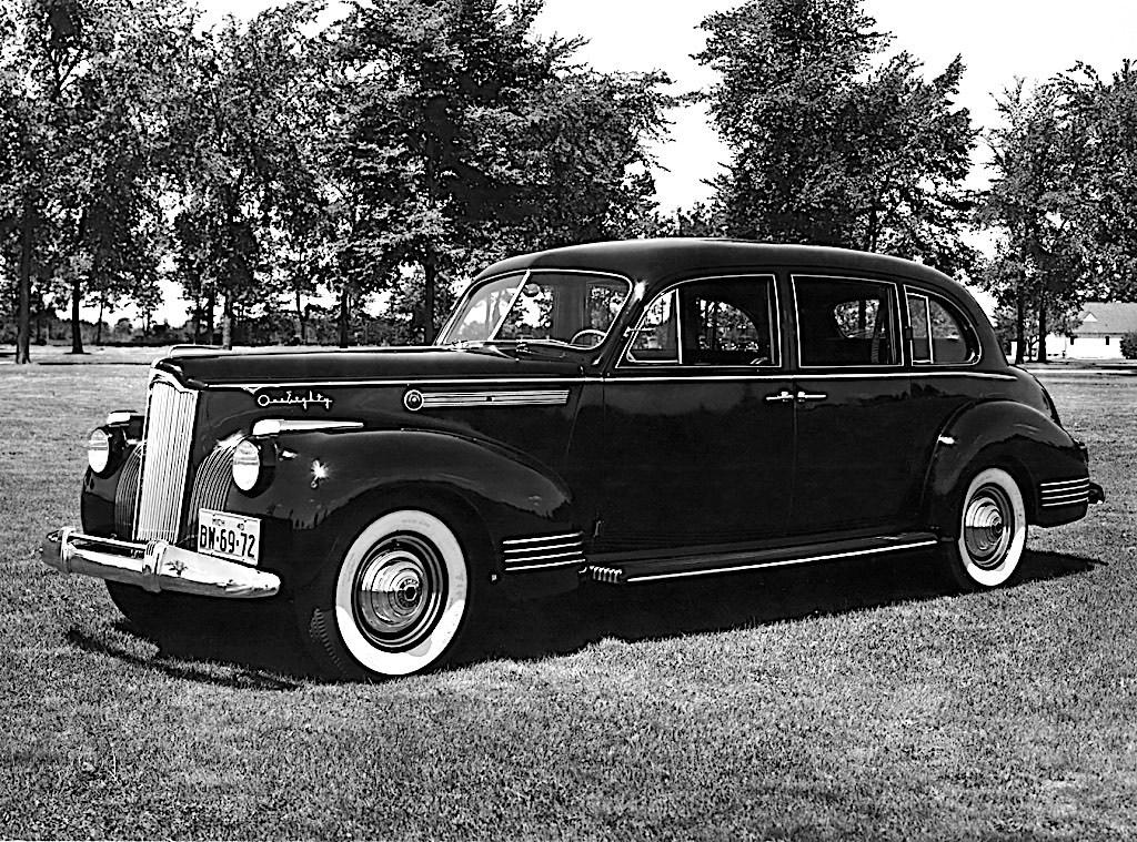 1941 Packard 180 Super Eight Touring Limousine - przód