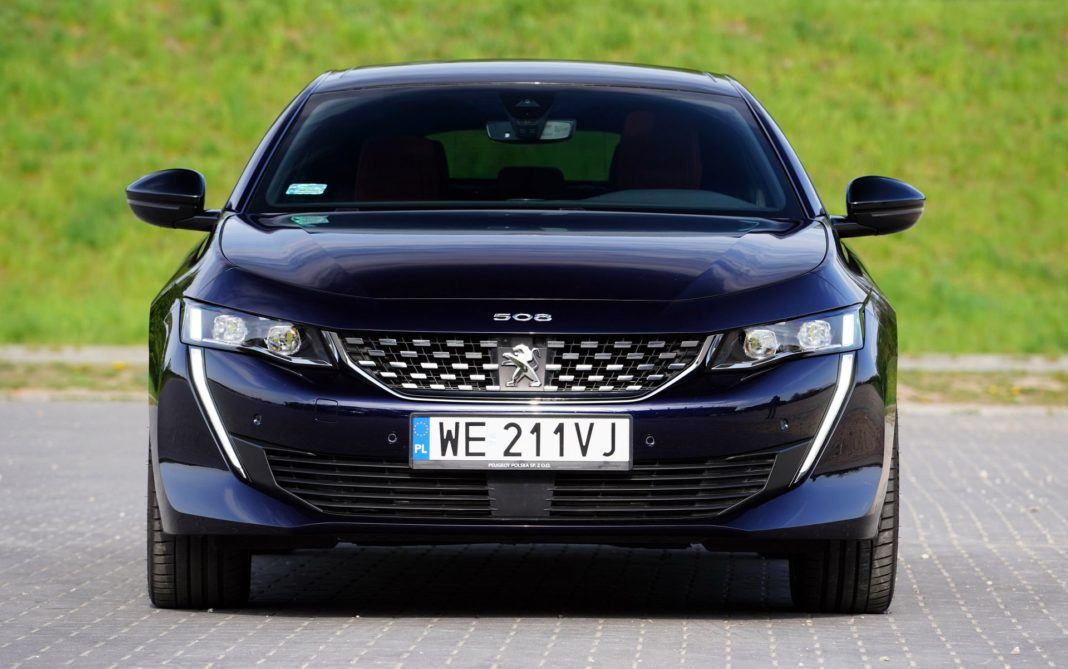 PEUGEOT 508 II GT 1.6PureTech 225KM 8AT EAT8 WE211VJ 04-2019