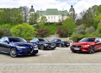 Czy nowe Volvo S60 jest lepsze niż Alfa Romeo Giulia, Mercedes klasy C i Peugeot 508?