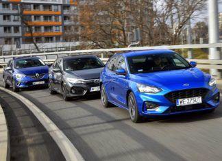 Porównanie kompaktowych hatchbacków: Ford Focus, Honda Civic i Renault Megane
