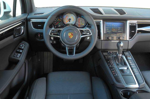 Porsche Macan - kokpit