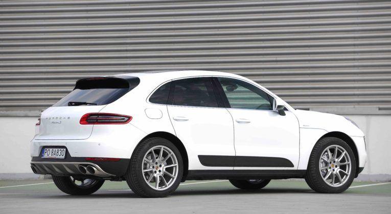 Porsche Macan - tył
