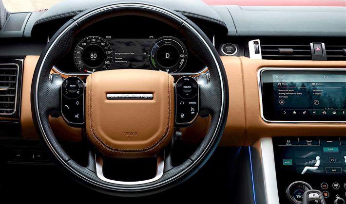 Range Rover Sport - kokpit