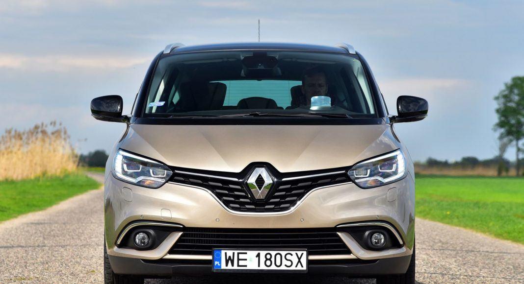 Renault Grand Scenic - przód