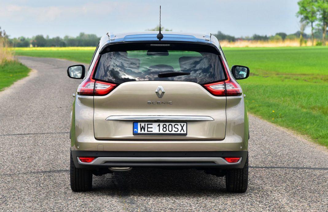 Renault Grand Scenic - tył