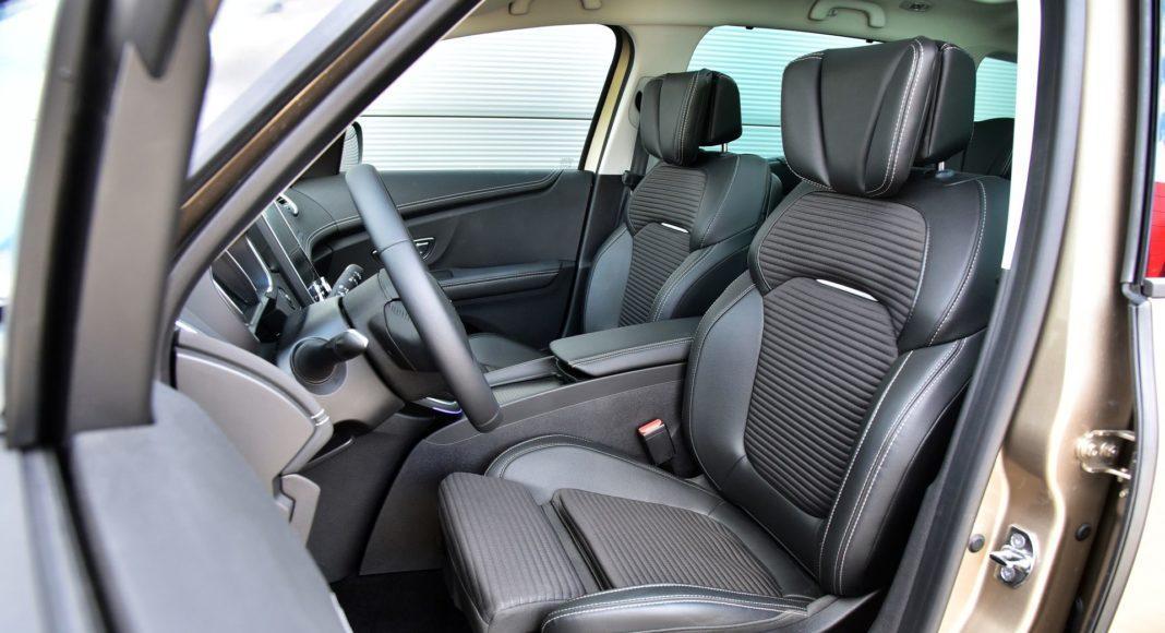 Renault Grand Scenic - fotel kierowcy