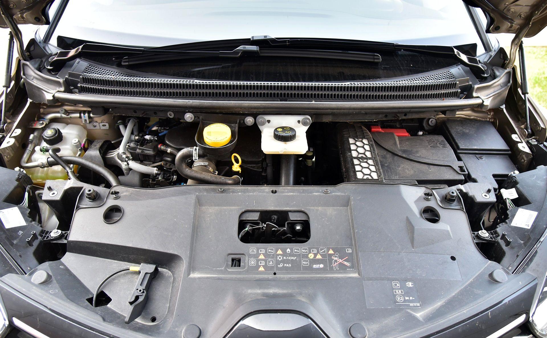 Renault Grand Scenic - silnik