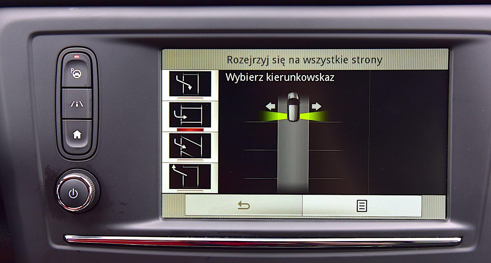Renault Kadjar - asystent parkowania