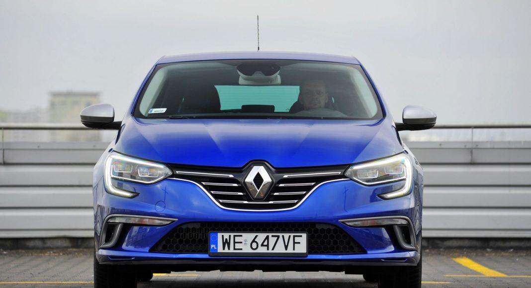 Renault Megane TCe 160 GT-Line - przód