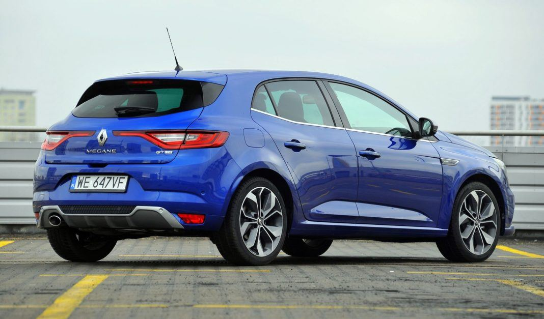 Renault Megane TCe 160 GT-Line - tył