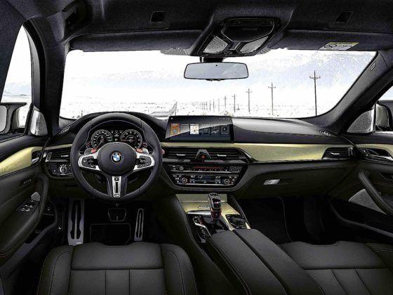 BMW M5 Edition 35 Jahre - kokpit