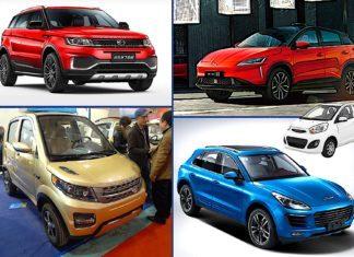 Chińskie klony – 10 modeli samochodów, które nawet nie próbują udawać, że nie są podróbkami