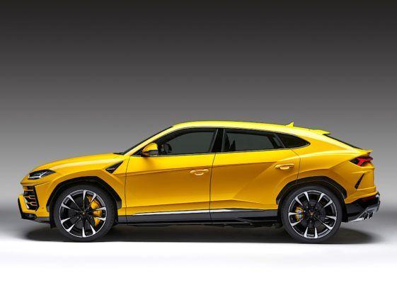 Lamborghini Urus - bok