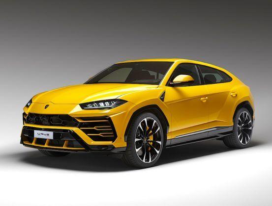 Lamborghini Urus - przód