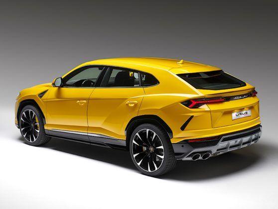 Lamborghini Urus - tył