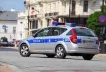 policja - oznakowany radiowoz