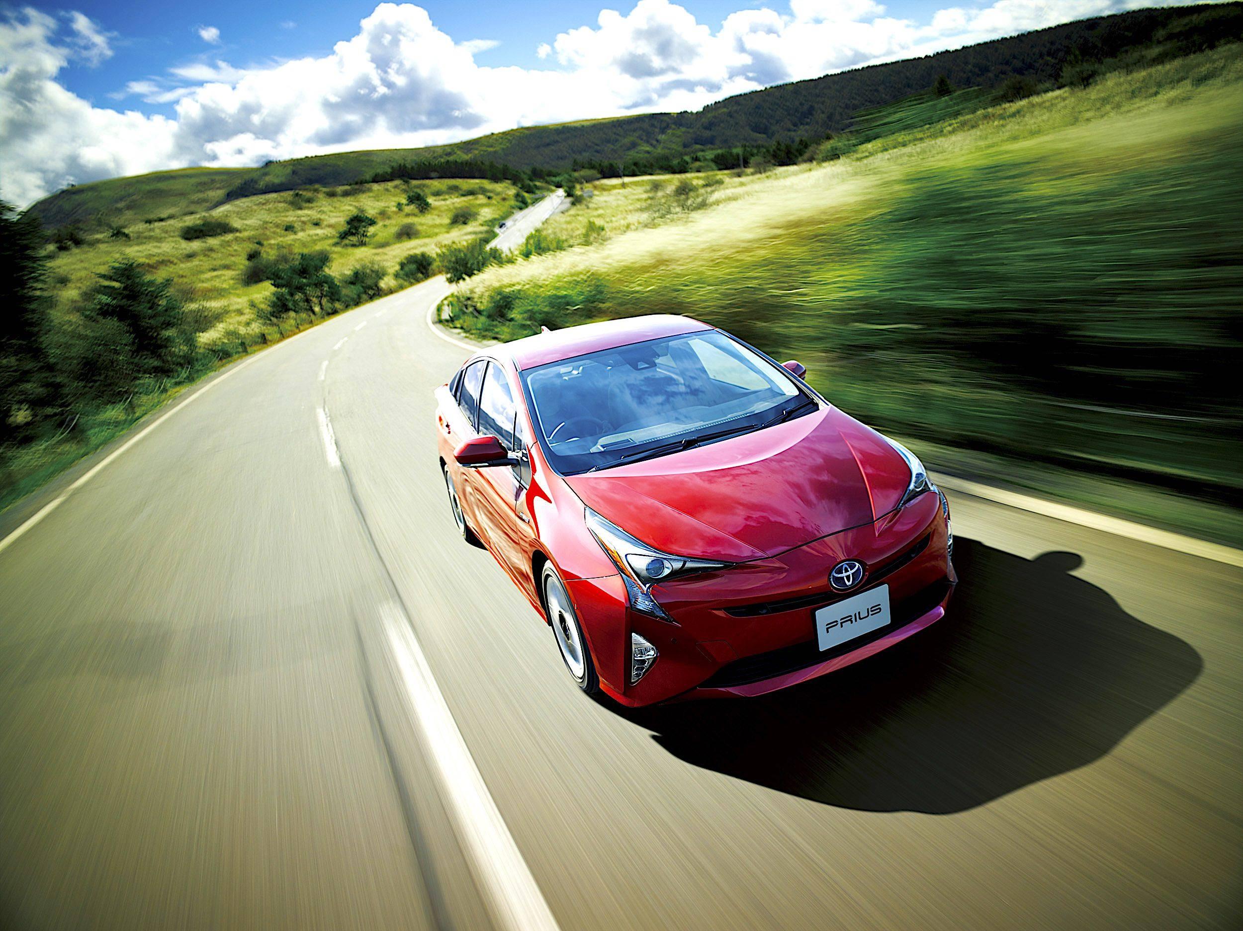 Toyota Prius - przód