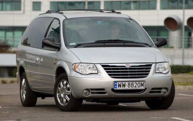 CHRYSLER Grand Voyager IV Limited 2.8CRD 150KM 4AT WW8820M 09-2004