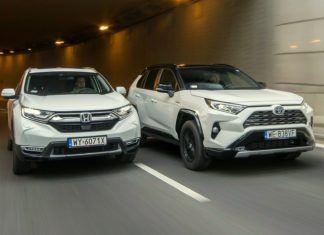 Który SUV ma lepszy napęd hybrydowy - Honda CR-V czy Toyota RAV4?