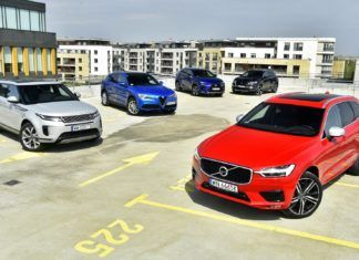 Volvo XC60 kontra Range Rover Evoque, Alfa Romeo Stelvio, DS 7 Crossback i Lexus NX