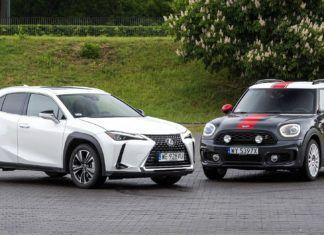 Czy nowy Lexus UX zdoła pokonać weterana kompaktowych SUV-ów premium Mini Countrymana?