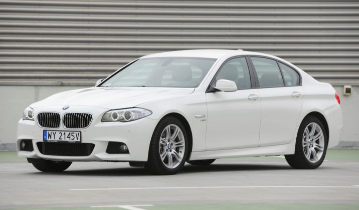 BMW 530d F10 M-Pakiet 3.0d R6 258KM 8AT xDrive WY2145V 09-2011