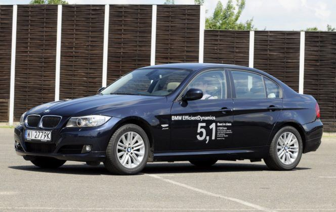 BMW 320d E90 FL 2.0d 177KM 6AT xDrive WI2779K 07-2009