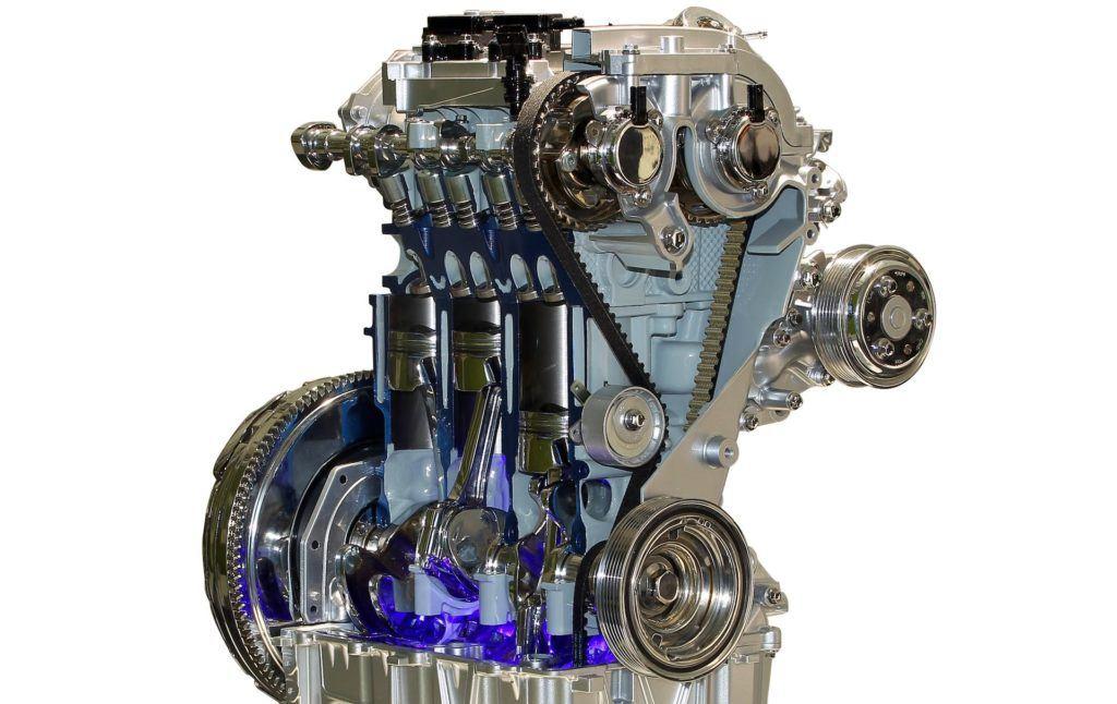 Rozrząd silnika 1.0 EcoBoost