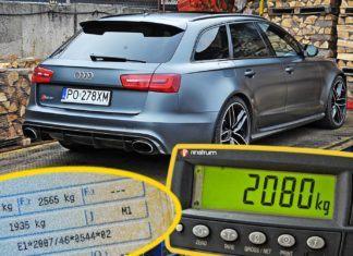 Rzeczywiste masy własne samochodów - nawet 290 kg nadwagi!