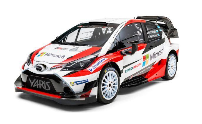 Toyota Yaris WRC (2018)