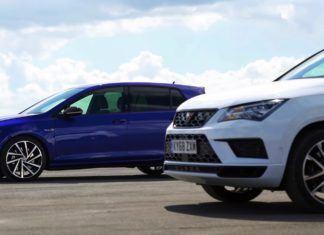 Cupra Ateca kontra Volkswagen Golf R - porównanie osiągów [WIDEO]