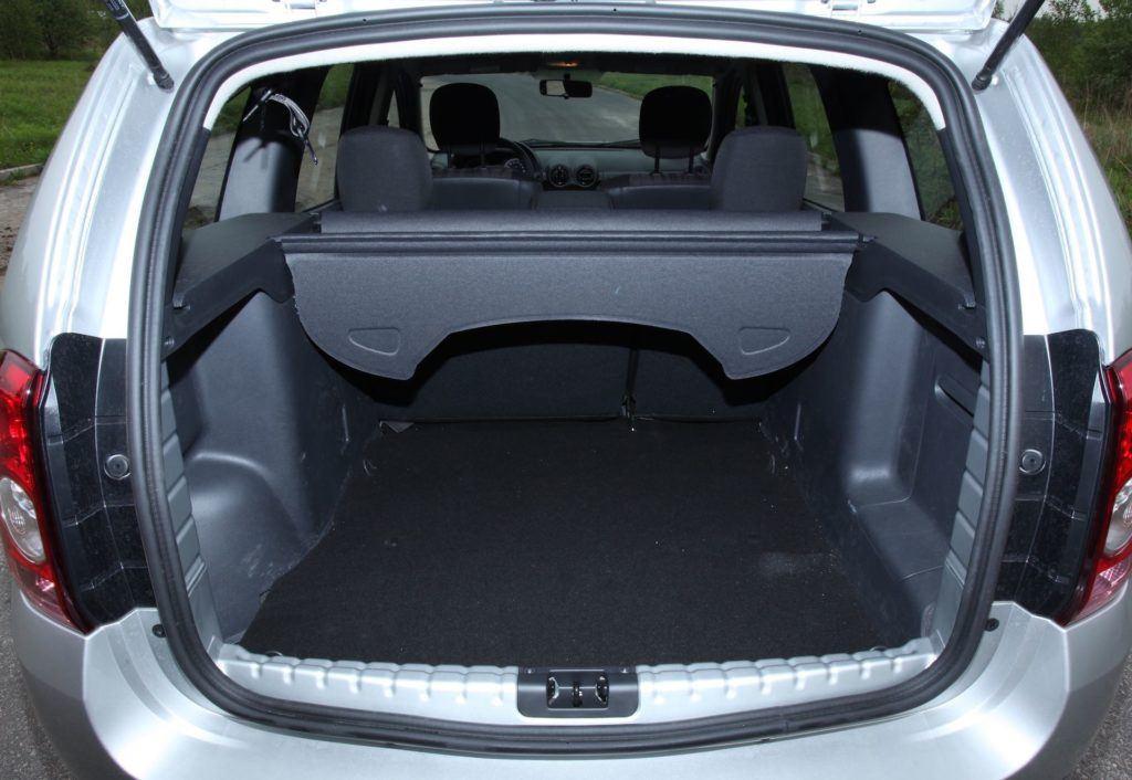 Dacia Duster 2WD bagaznik