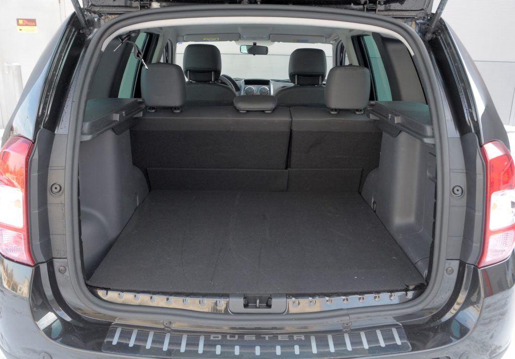 Dacia Duster 4WD bagaznik