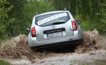 Dacia Duster offroad