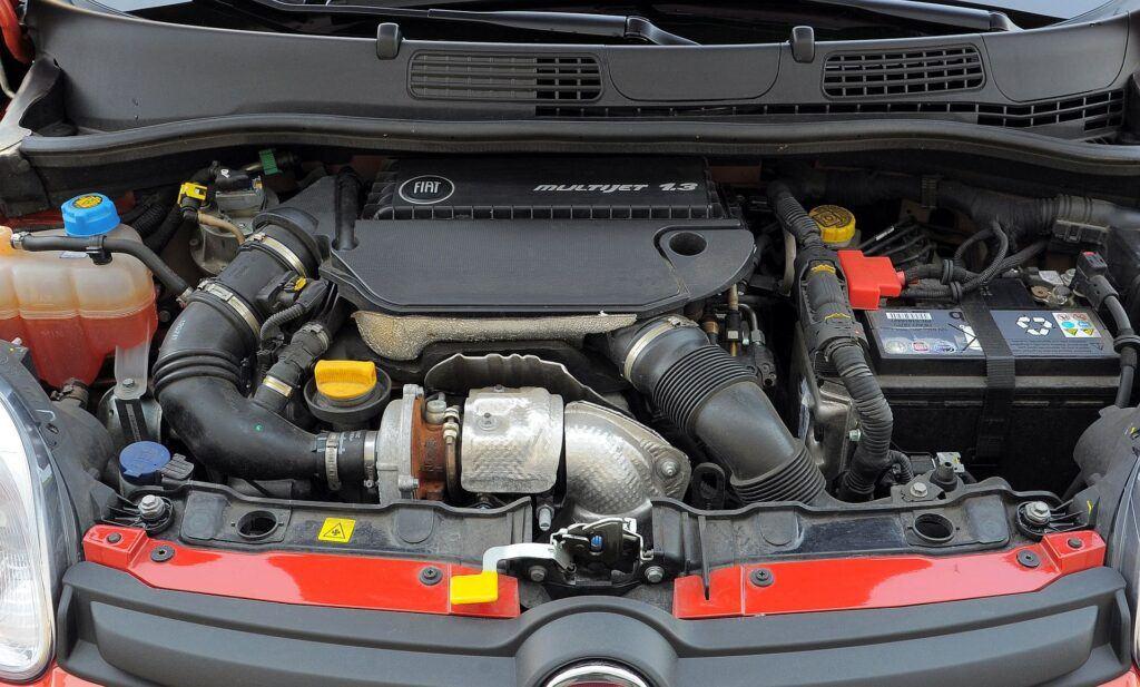Fiat Panda III silnik