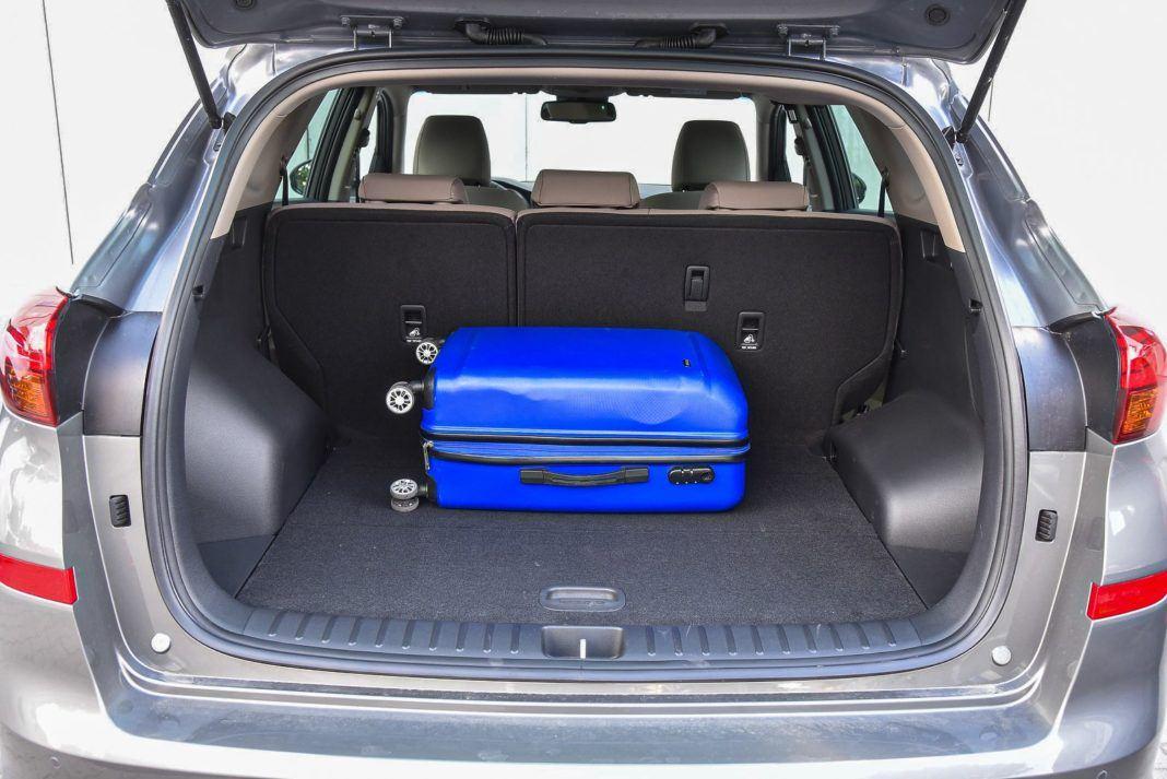 Hyundai Tucson – bagażnik