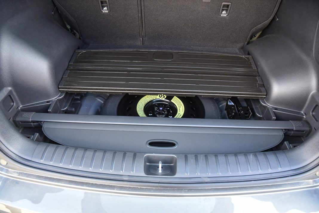 Hyundai Tucson - schowek w bagażniku