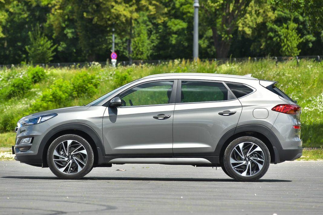 Hyundai Tucson – bok