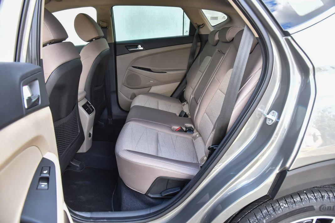 Hyundai Tucson – fotele z tyłu