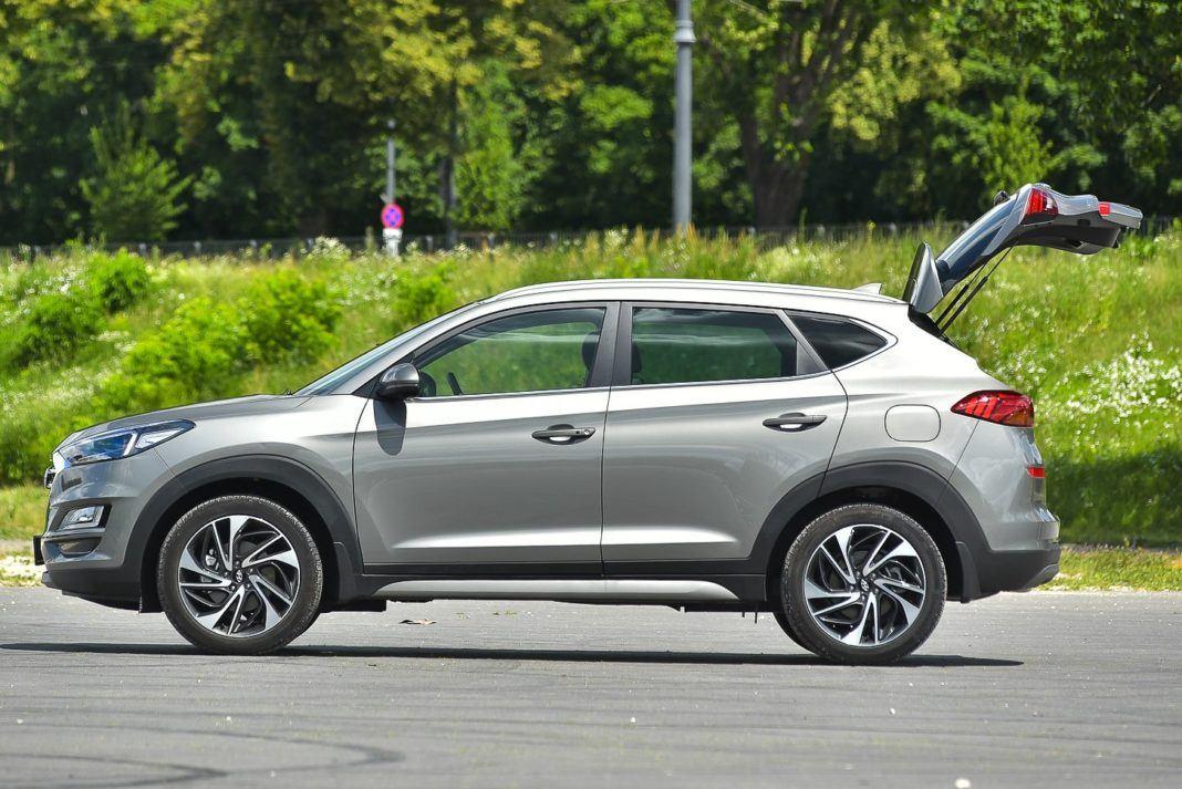 Hyundai Tucson – otwarty bagażnik