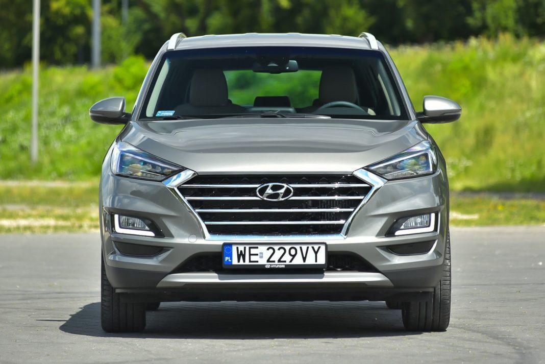 Hyundai Tucson – przód