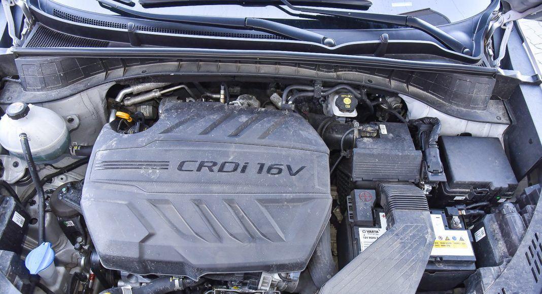 Hyundai Tucson – silnik